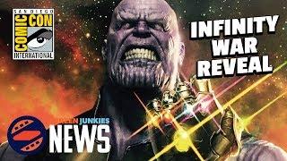 Avengers: Infinity War Details! - SDCC 2017