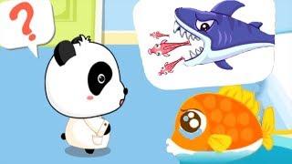 Baby Panda Kids Learning Video - Baby Panda PoliceMan + Baby Panda Hospital -  Educational Game