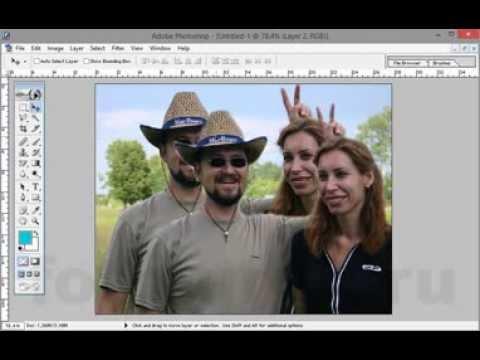 как делать авы в фотошопе: