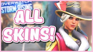 Overwatch - ALL STORM RISING SKINS AND ITEMS (2019 Archive Event)