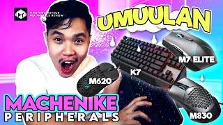Machenike Gaming Peripherals Round Up! -K7 Mechanical Keyboard, and M7 Elite, M830, M620 Gaming Mice