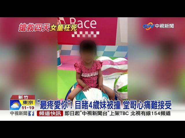 """4歲""""小網美""""遭撞飛亡 21歲肇事駕駛不聞不問"""