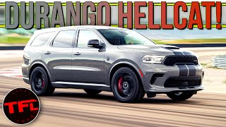 Breaking News: The 2021 Dodge Durango Hellcat Will Catapult Your Family From 0-60 In 3.5 Seconds!