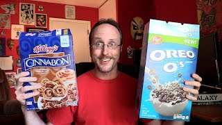 Doug Tries Oreo O's and Cinnabon Cereal