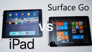 iPad vs Surface Go - Which should you choose?