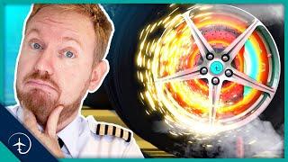 How do Aircraft BRAKES work?!