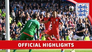 Scotland 2-2 England (2018 World Cup Qualifier) | Official Highlights