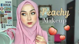Peachy Makeup feat. Sofieya Beauty Foundation | Morphe 35O