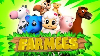 ABC Songs & Cartoon Nursery Rhymes for Kids | Baby Songs for Children by Farmees