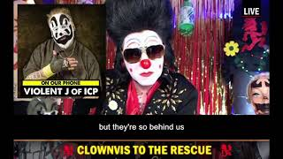 ICP's Violent J talks about Aliens and the Government on Clownvis to the Rescue