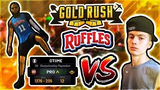 1st GOLD RUSH + RUFFLES WINNER vs HANKDATANK • $1,000 LSK MyPARK TOURNEY - NBA 2K19