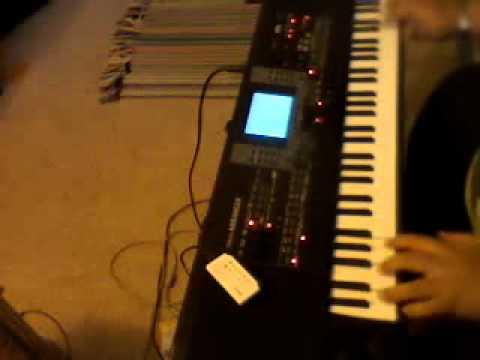 korg micro arranger sax