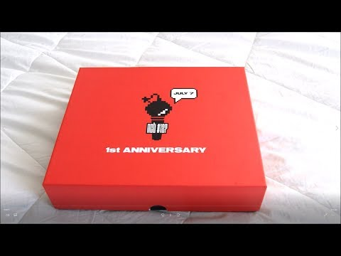 UNBOXING NCT 127's OFFICIAL 1st ANNIVERSARY BOX