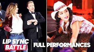 "Derek Hough's ""From This Moment On"" vs. Nicole Scherzinger's ""Man! I Feel Like a Woman"""