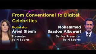 Areej Sleem I Presenter, beIN Sports, Mohammed Saadon Alkuwari I Senior Presenter, beIN Sports