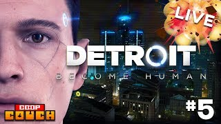 Detroit: Become Human - Part 5: Boozers and Droids | Co-op Couch Live
