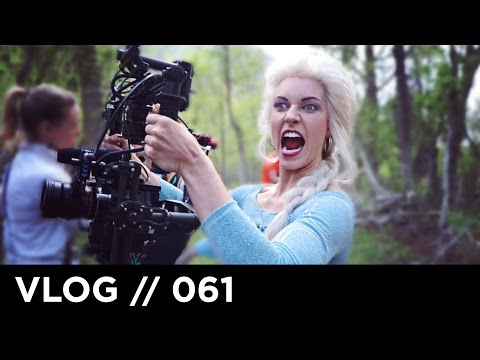 ELSA STOLE MY CAMERA! // Princess Dance Battle Behind the Scenes