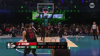 Seth Curry Three-Point Contest First Round   2019 NBA All-Star