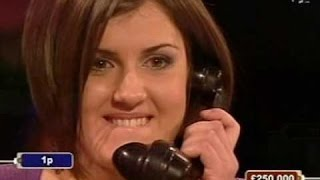 Deal or no Deal March 12 2009 Alice 2nd £250,000 Winner