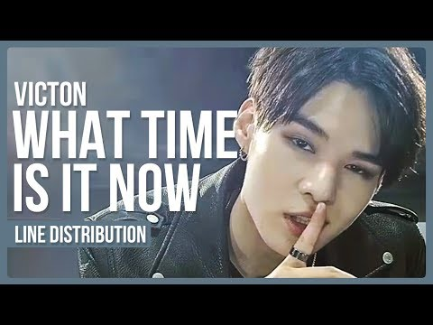 VICTON - What Time Is It Now Line Distribution (Color Coded)