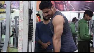 my gym coach workout for beginners first day at gym workout   motivation video