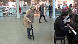 PIANO RAGE CAUSED BY GRUMPY OLD MAN!