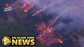 Hawaii Volcano Eruption Update - Friday Afternoon (May 18, 2018)