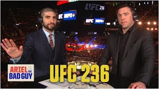 UFC 236 Preview | Ariel & The Bad Guy | ESPN MMA