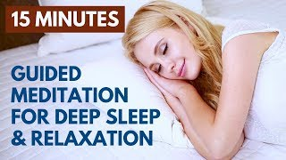 Guided Sleep Meditation Deep Relaxation   Soothing Male Voice