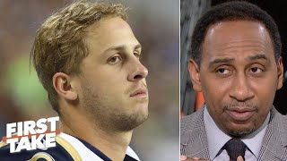 'The Rams are finished!' - Stephen A. | First Take