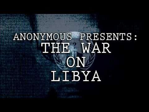 WAR ON LIBYA - ANONYMOUS REVOLUTION - OVER 50 TRANSLATIONS / LANGUAGES HD