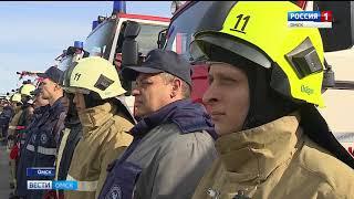 На Омском НПЗ состоялась торжественная церемония передачи уникального автомобиля