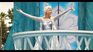 Frozen Royal Welcome Parade at Disney's Hollywood Studios 2015