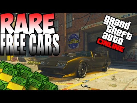GTA 5 Online : RARE CARS FREE Location 1.29 - Secret Storable Vehicles (GTA 5 Rare Cars)