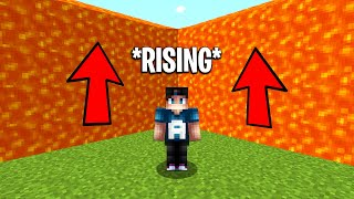 Minecraft but it constantly rises