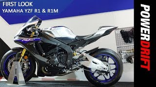 2018 Yamaha YZF R1 & R1M : EICMA 2017 : PowerDrift