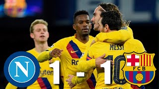 Napoli vs Barcelona [1-1], Champions League, Round of 16, 2020 - MATCH REVIEW