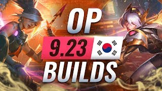 15 NEW Korean Builds You MUST TRY in Patch 9.23 - League of Legends Season 10