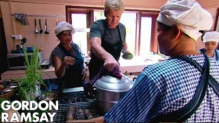 Gordon Ramsay Tries & Cooks A Traditional Fish Amok In Cambodia  | Gordon's Great Escape