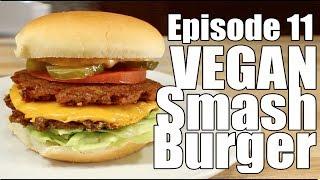 DIY Vegan Smashed Burger