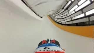 POV Doubles Luge in Sochi, Russia.