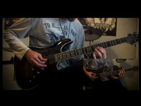Vampire Knight Opening guitar arrangement/cover HD(on/off:ふたつの鼓動と赤い罪)