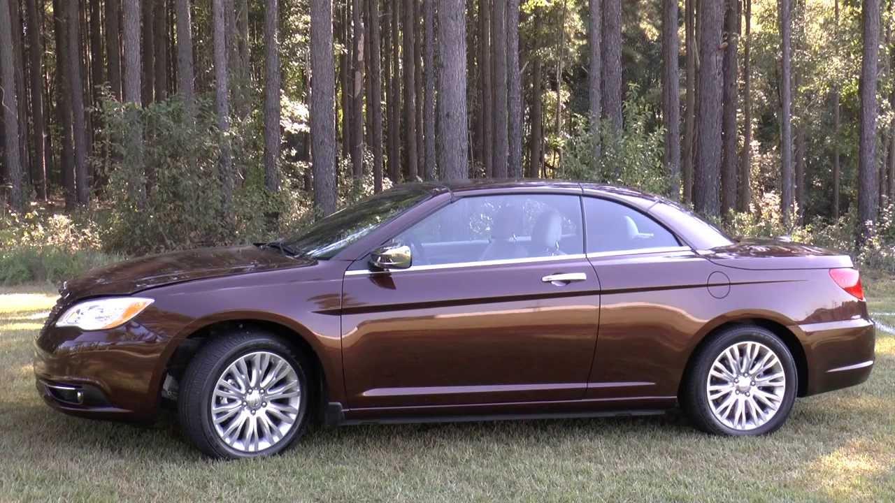 2013 Chrysler 200 Limited >> 2013 Chrysler 200 Limited Convertible, Detailed Walkaround
