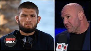 Dana White says Khabib Nurmagomedov will have his eye on UFC 257 | ESPN MMA