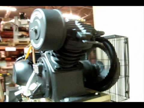 video Ingersoll Rand 2475N5-V 80 Gallon 5 HP Two Stage Air Compressor