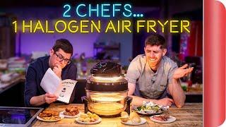 2 Chefs Test a Halogen Air Fryer