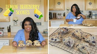 How to make Lemon Blueberry Scones