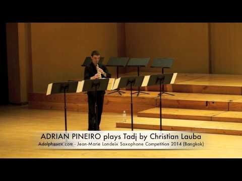 ADRIAN PIÑEIRO plays Tadj by Christian Lauba