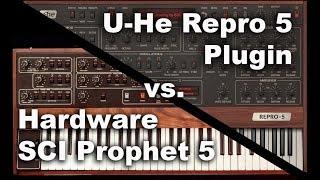 U-He Repro 5 vs Prophet 5