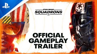 Star Wars: Squadrons | Official Gameplay Trailer | PS4